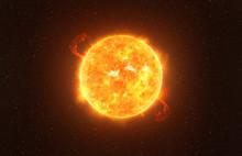 Betelgeuse Star Against Starry...