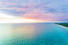 Moreton Island, Queensland, Australia From Above