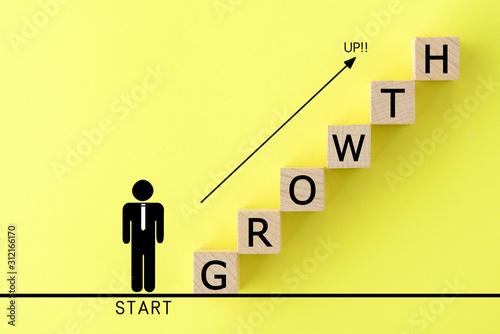 Fotomural  ビジネスイメージ―成長