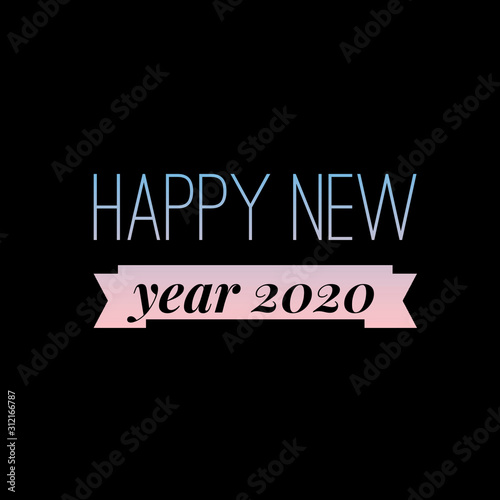 Happy New Year 2020 images Wallpaper Mural