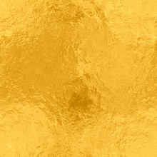 Gold Foil Seamless Texture, Metal Background