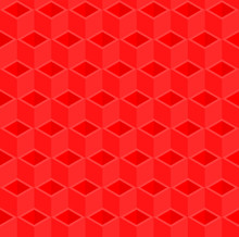 Red 3d Pipes Vector Background...