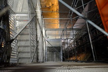 Some Stairs And Scaffolding In Bologna