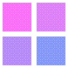 Set Of Patterns Pink Colorful ...