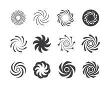 Vortex Logo Icon Wave And Spir...