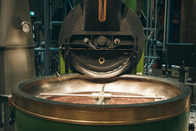The Process Of Roasting Coffee...