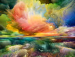 canvas print picture - Realms of Inner Spectrum