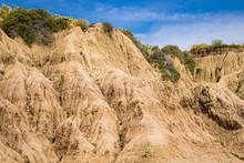 Steep Cliffside Close Up (San ...