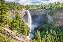 Helmcken Falls At Wells Gray P...