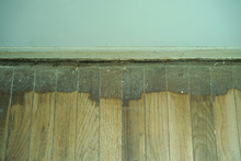 Old Damaged And Rotten Parquet Texture.