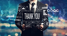 Thank You Message With Busines...
