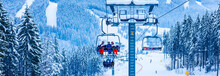 Cable Car In Winter