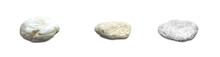 Stones Isolated On White Backg...