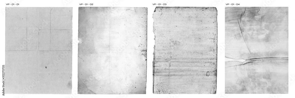 Fototapeta Vintage Paper Texture Pack Old Retro Book Pages