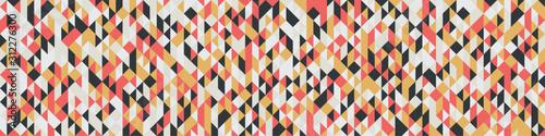 Pattern with random colored Diamonds Generative Art background illustration