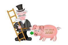 Viel Glück 2020, Schornsteinf...