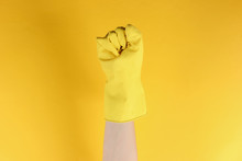 Femen Symbol. Female Fist In R...