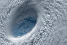 Eye Of The Hurricane. Hurrican...