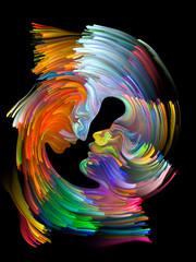 Fototapeta Popularne Colors of Love