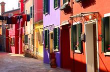 Murano, Burano , Venetian Isla...