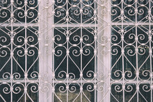 Forged Metal Protective Grille...