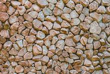 Pebbles Pattern Beige Brown Background Base Hard Natural