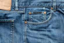 Details Of Worn Blue Denim Jea...