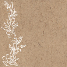 Floral Vector Background With ...