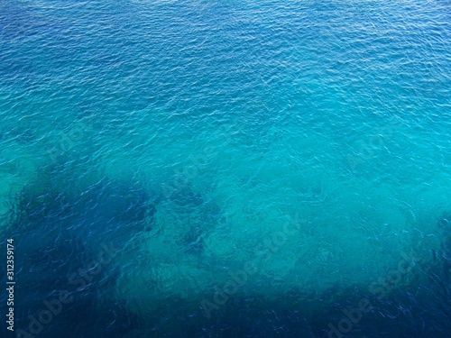 blue water background Canvas Print