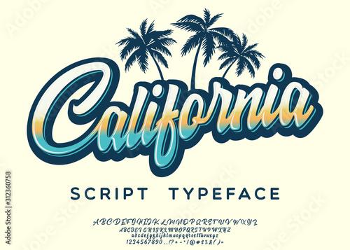 Leinwand Poster California