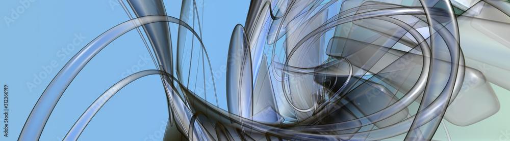 Fototapeta Abstract illustration