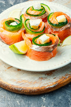 Trout Or Salmon Roll