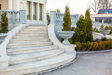 Luxury Mansion With Marble Sta...