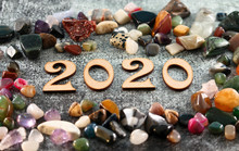 Happy New Year 2020. The Numbe...