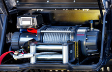 A Powerful Electric Winch Is L...
