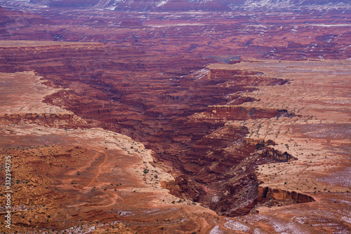 Beautiful Canyon lands national park. Wallpaper Mural