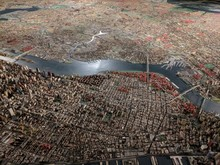 NYC Arial View (color)