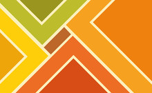 Geometric Background Of Rectangles, Bright Colored Shapes To Create An Abstract Image
