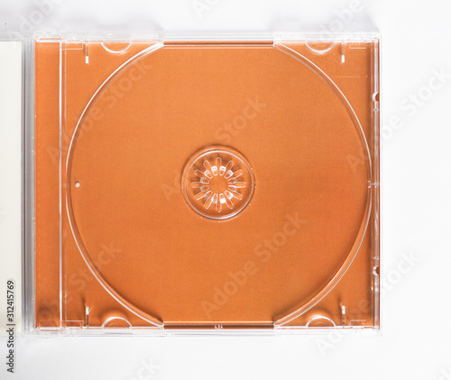 Fotografering CD (compact disc) case