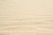 Rippled Sand On The Sea Coast ...