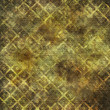 canvas print picture - Golden Yellow and Brown Abstract Squares Background Illustration