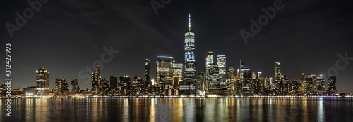 Lower Manhattan Night