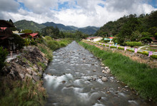 The Caldera River, Boquete, Pa...