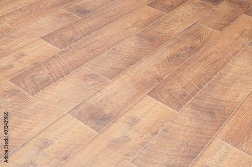 Fototapeta laminate flooring, parquet board, natural wood, flat surface obraz na płótnie
