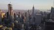 Manhattan skyline from the Empire State Building in New York City, USA