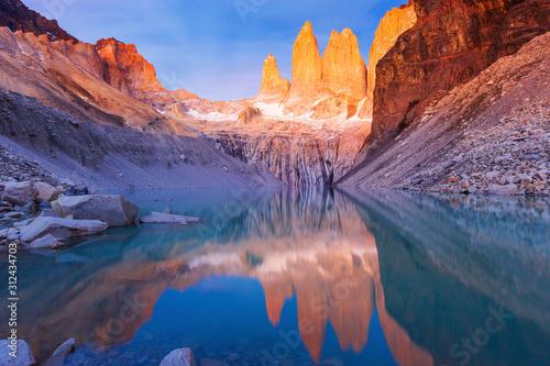 Photo Torres Del Paine National Park, Chile.