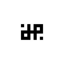 Letter D And P Ambigram Logo Icon Design Template Elements