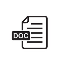 Document Icon, Doc Icon, Data ...