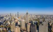 Aerial View of Nanjing City in A Sunny Day in China