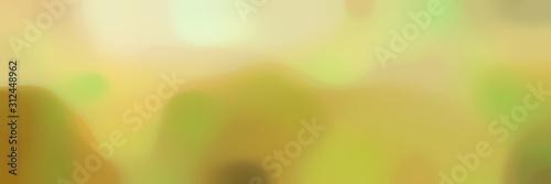 Fotografie, Obraz  blurred bokeh iridescent horizontal background texture with dark khaki, pale gol